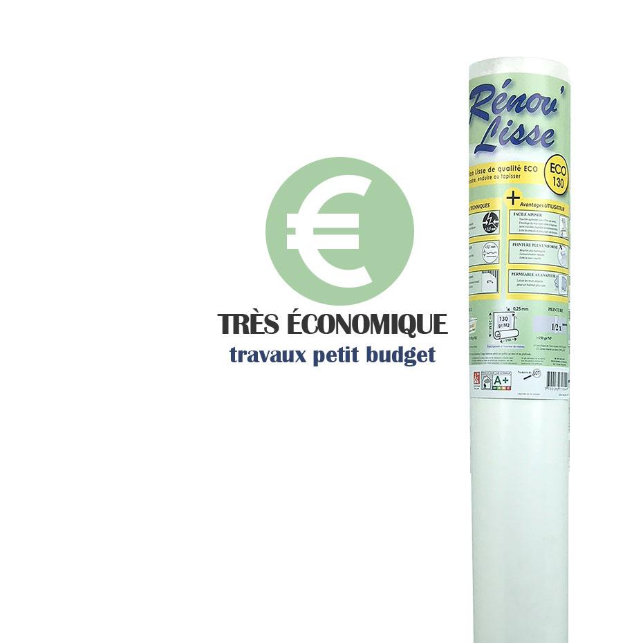 Toile À Enduire Plafond rénov'lisse eco 130 - 25m²